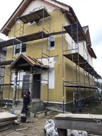 Фасадные работы на 1-й Большой Окружной