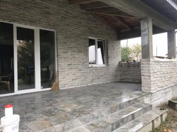 Реконструкция небольшого домика в Малиновке