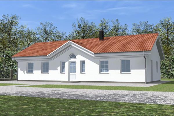 Одноэтажный дом в п. Дорожный
